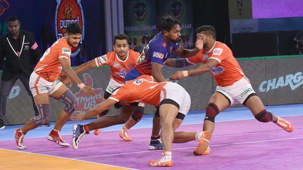 Match 41: Dabang Delhi K.C. vs Puneri Paltan