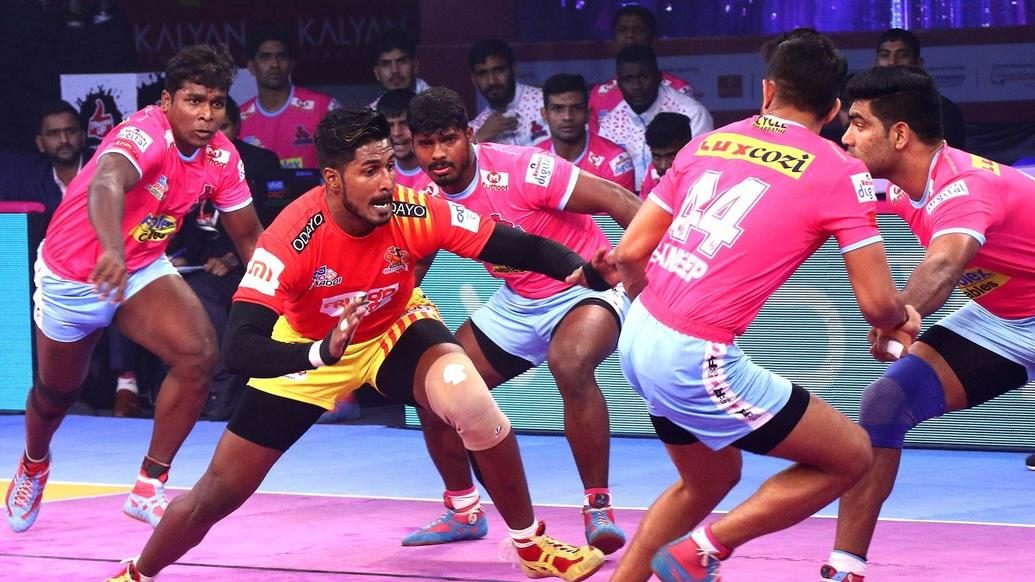 Match 116: Jaipur Pink Panthers vs Gujarat Fortunegiants