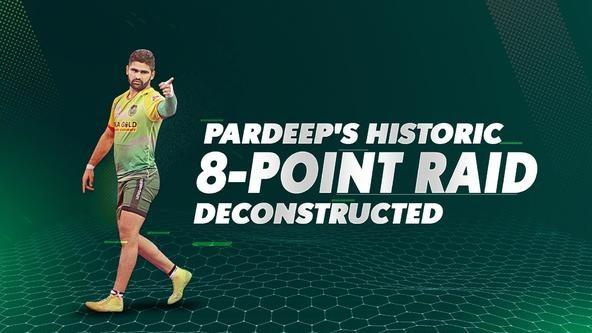 Deconstructed: Pardeep's 8-point raid