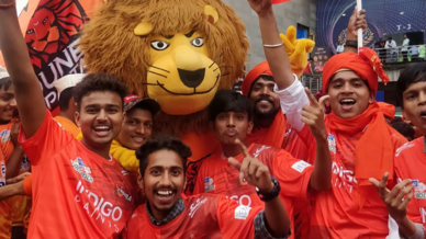 Telugu Titans, U Mumba and Puneri Paltan fans show their support