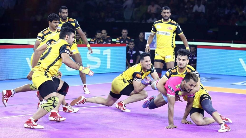 Telugu Titans continue resurgence with win over Jaipur Pink Panthers