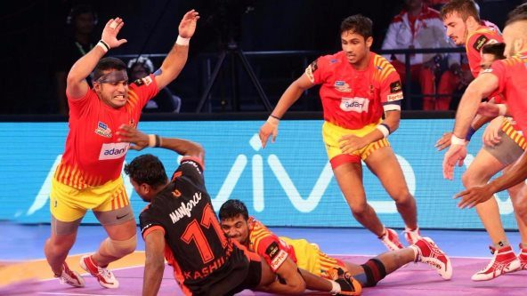 Gujarat turn on 'Garjega' mode to rout Mumbai in home opener
