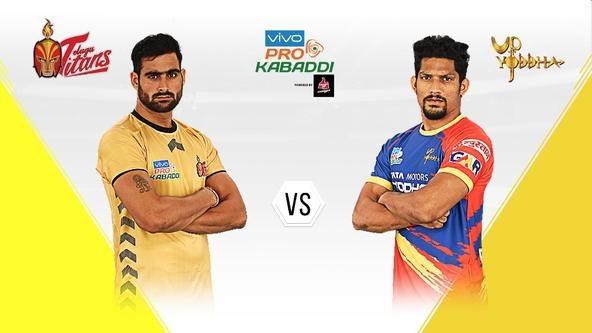 Telugu Titans head into a big battle against U.P. Yoddha