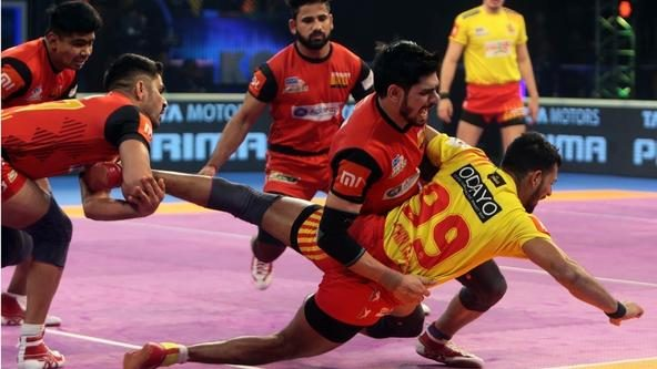 Kumar and Sehrawat deliver for Bengaluru Bulls as they book their place in the final