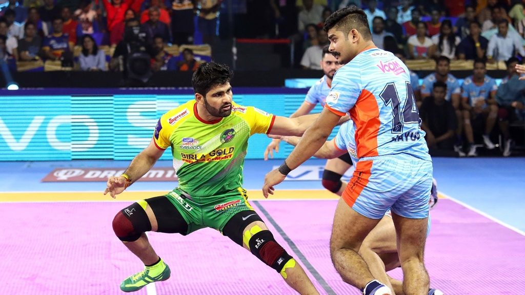 Pardeep Narwal became the first man to score 300 points in a campaign twice.