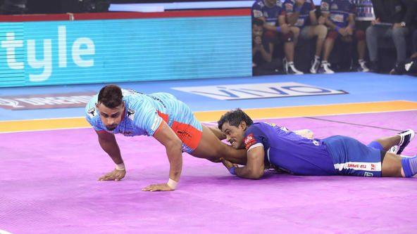 Match 60: Defender of the Match - Dharmaraj Cheralathan