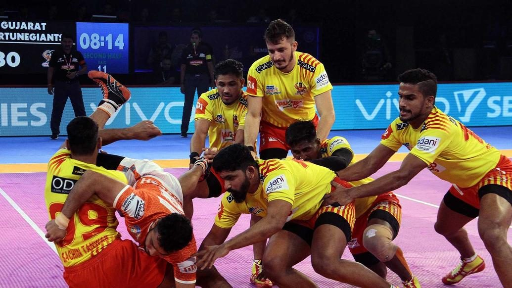 Match 87: Puneri Paltan vs Gujarat Fortunegiants