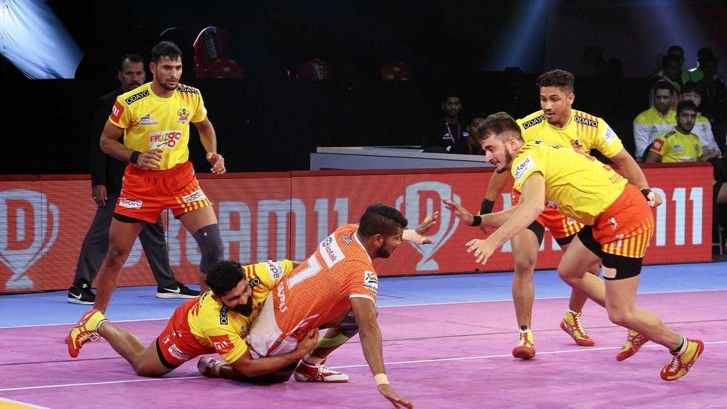 Convincing win over Puneri Paltan moves Gujarat Fortunegiants to top of Zone A