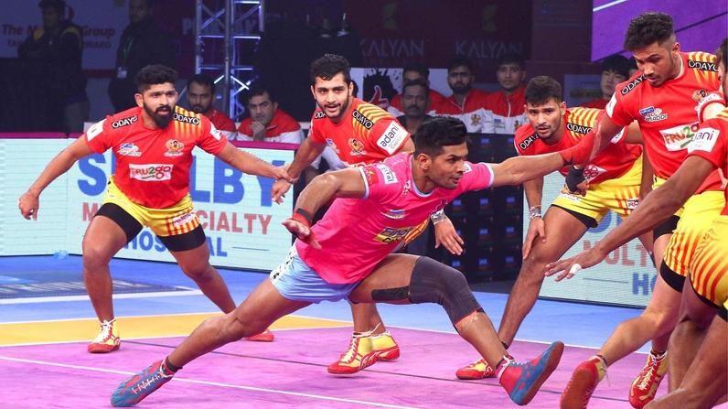 Jaipur Pink Panthers handed first home loss despite Hooda's second-half effort