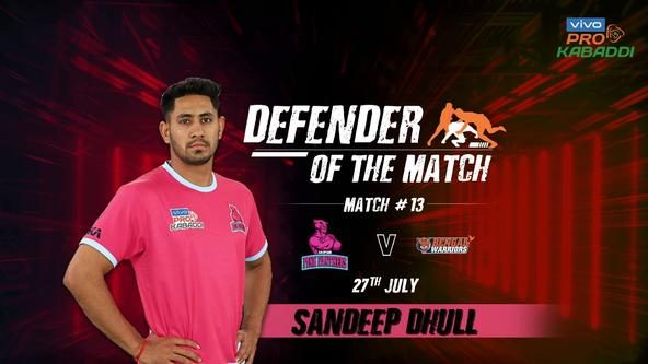 Match 13: Defender of the Match - Sandeep Dhull
