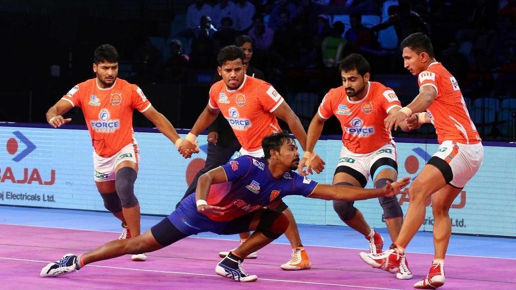 Match 93: Dabang Delhi K.C. vs Puneri Paltan