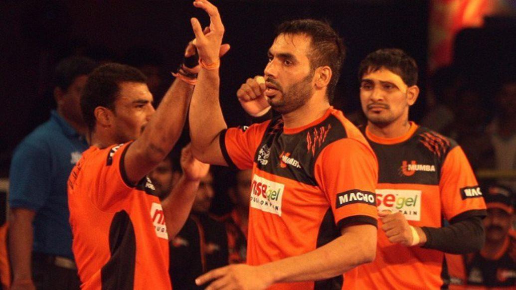 The U Mumba train keeps going – eighth consecutive win for Anup Kumar's team