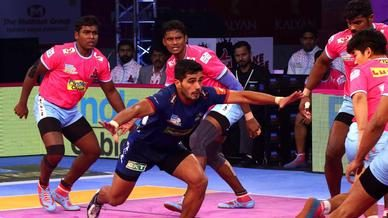 Match 118: Jaipur Pink Panthers vs Haryana Steelers