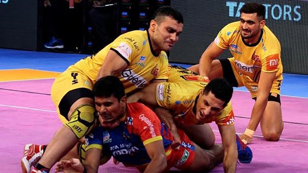 Mighani's magisterial High 5 takes Telugu Titans to victory over U.P. Yoddha