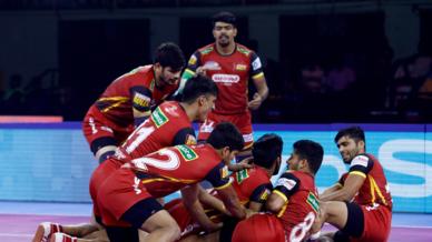 Match 45: Tamil Thalaivas vs Bengaluru Bulls