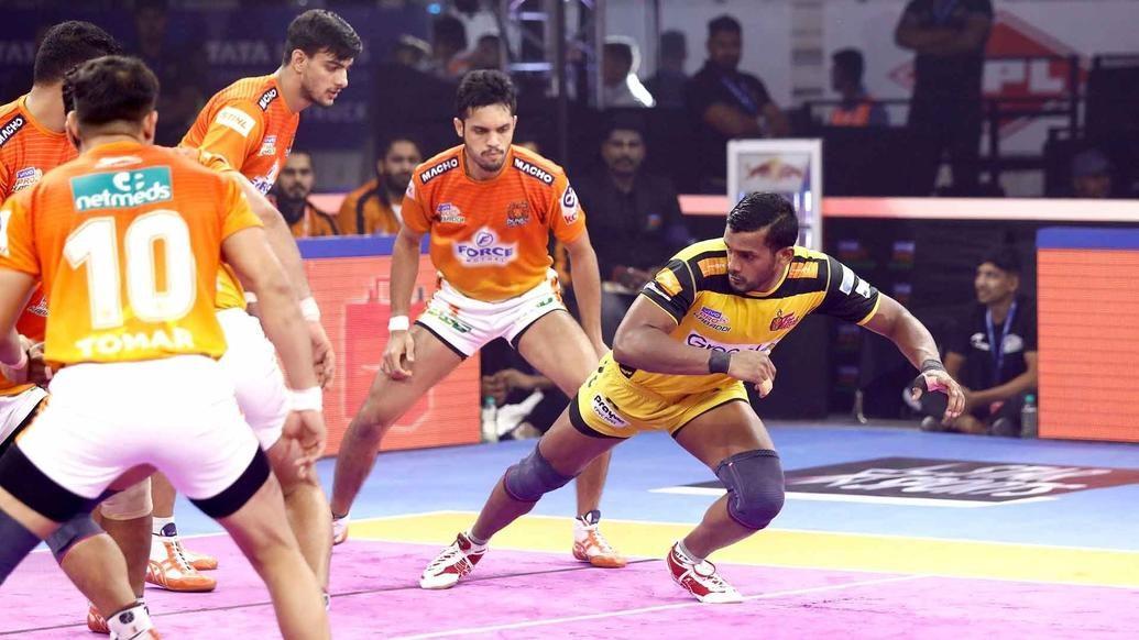 Match 119: Telugu Titans vs Puneri Paltans