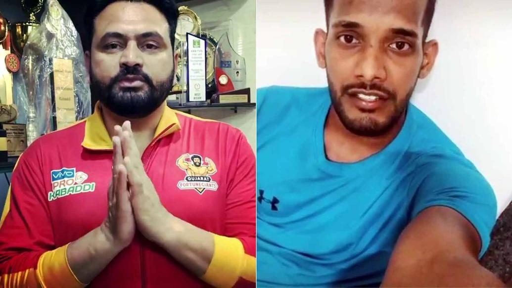 Pro Kabaddi players request citizens to stay safe amid pandemic