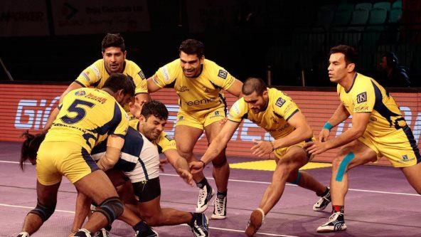 Rahul Chaudhari bounces back; gives Telugu Titans a 44-35 win over Dabang Delhi K.C.