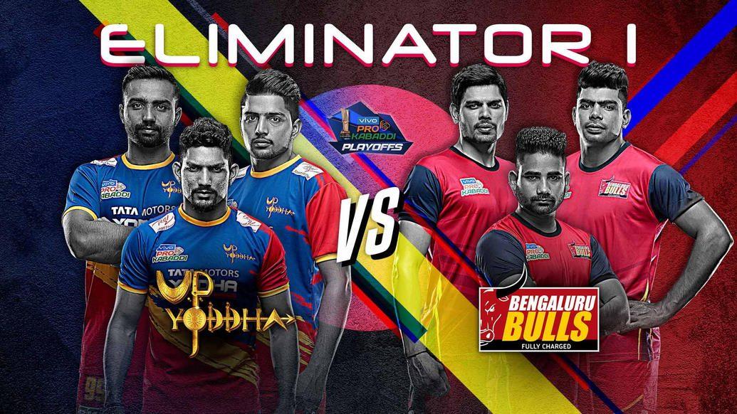 Defending champions Bengaluru Bulls take on U.P. Yoddha in Eliminator 1 of the playoffs