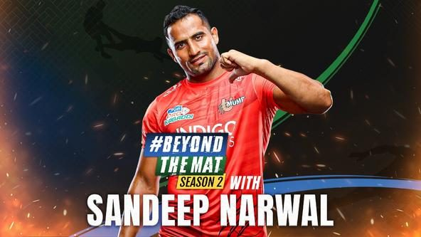 Indian Kabaddi's star All-rounder Sandeep Narwal on Beyond The Mat
