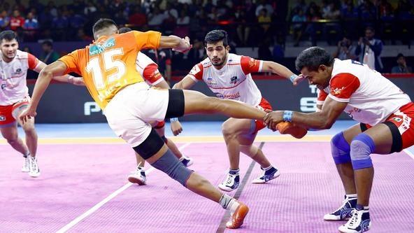 Match 71: Defender of the Match - Dharmaraj Cheralathan