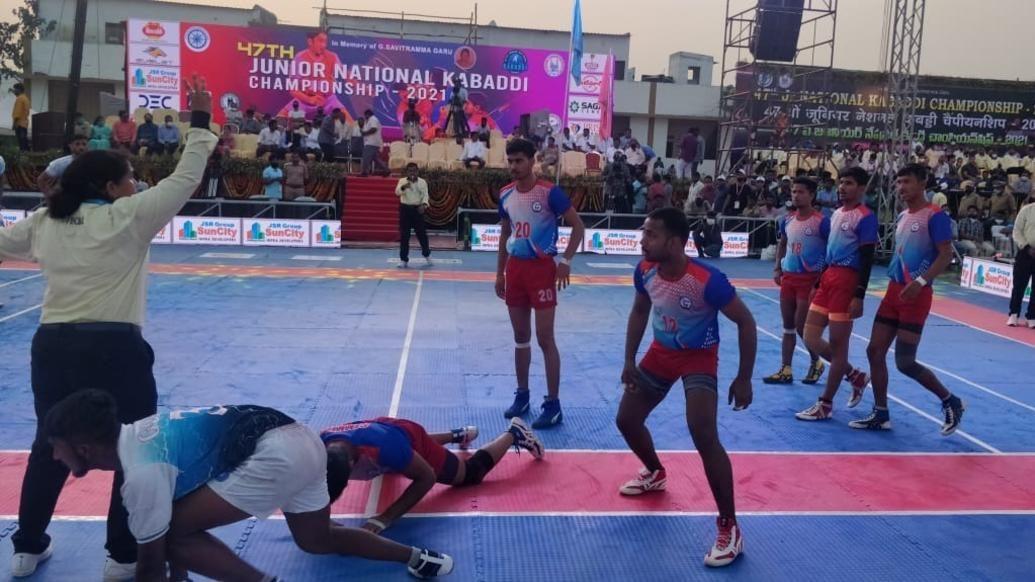 47th Junior National Kabaddi Championship: Day 3