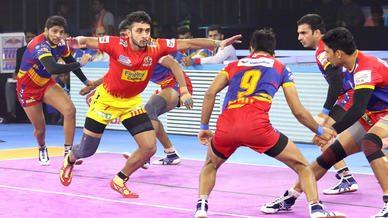 Match 82: U.P. Yoddha vs Gujarat Fortunegiants