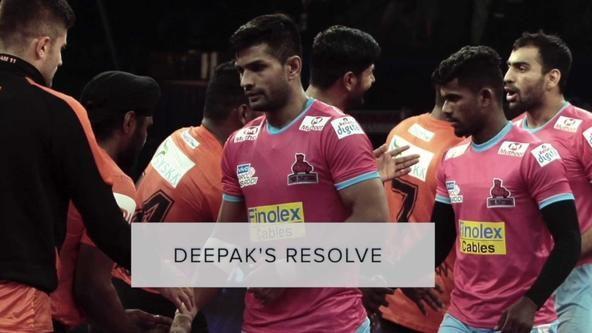 Deepak's resolve