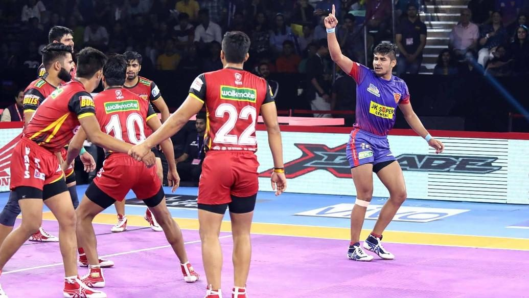 Dabang Delhi K.C. begin home leg with win over Bengaluru Bulls