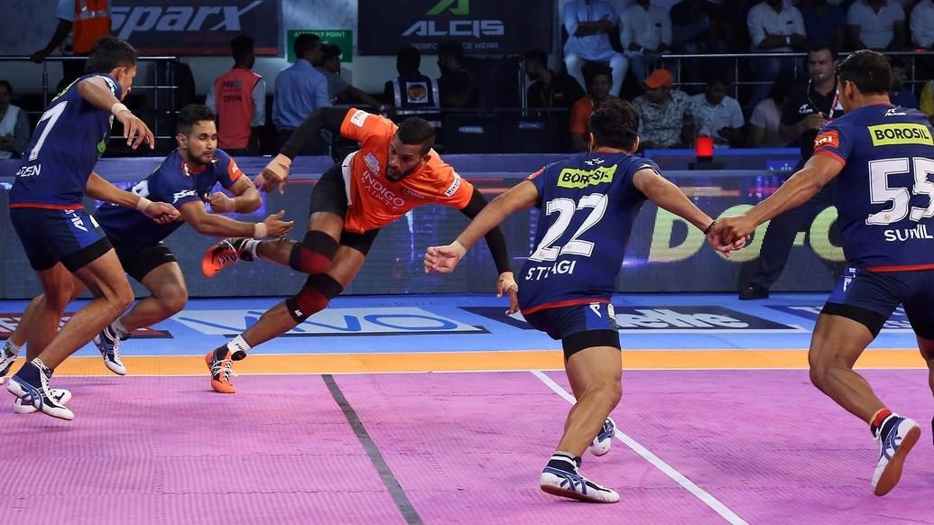 U Mumba claim third straight game after victory over Haryana Steelers