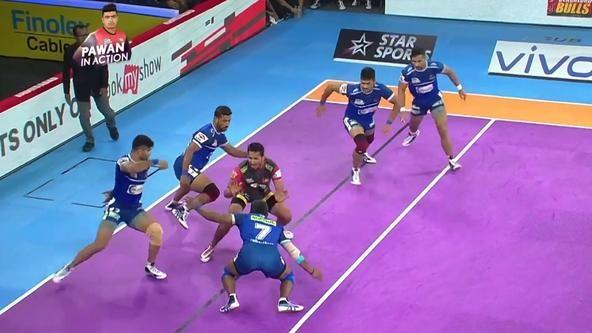 Match 36: Defender of the Match - Vikas Kale