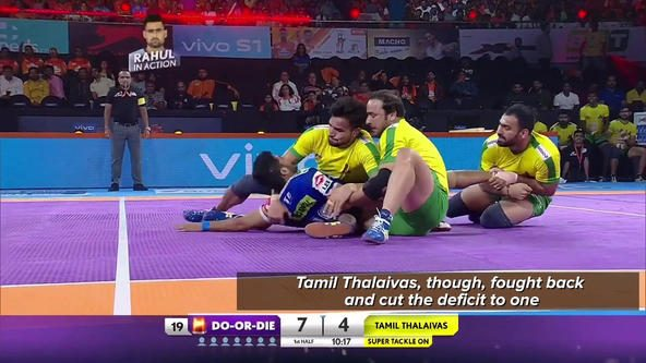 Match in 90 Seconds: Tamil Thalaivas vs Haryana Steelers