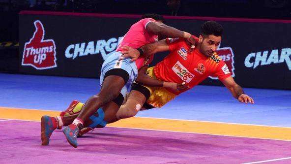 Match 120: Jaipur Pink Panthers vs Gujarat Fortunegiants