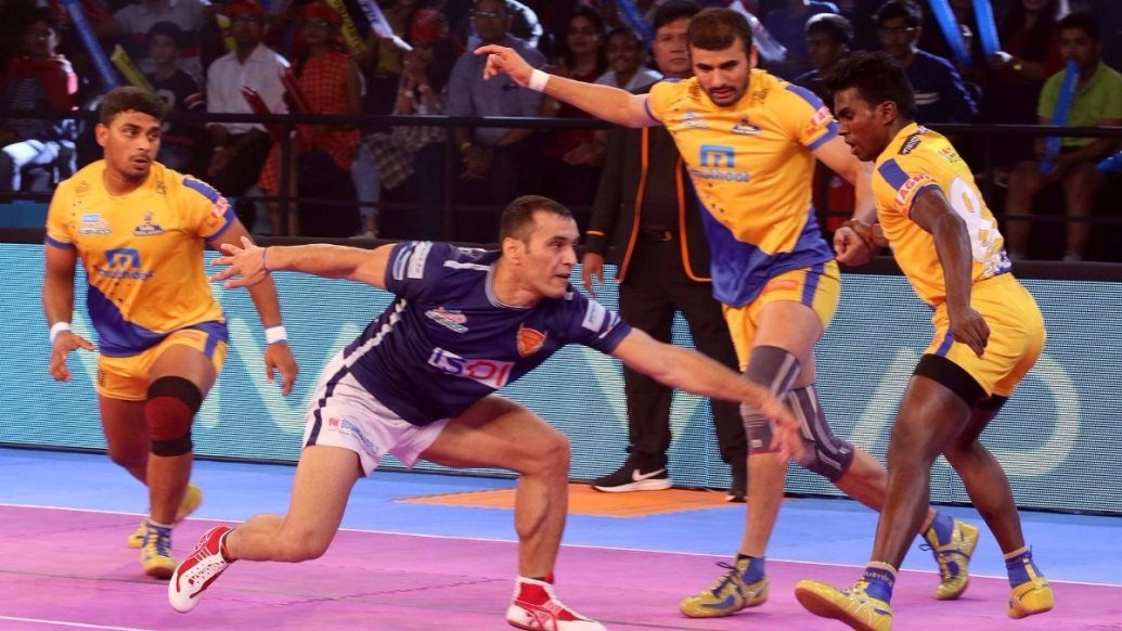 Sheykh's last-minute gold helps Delhi over the line