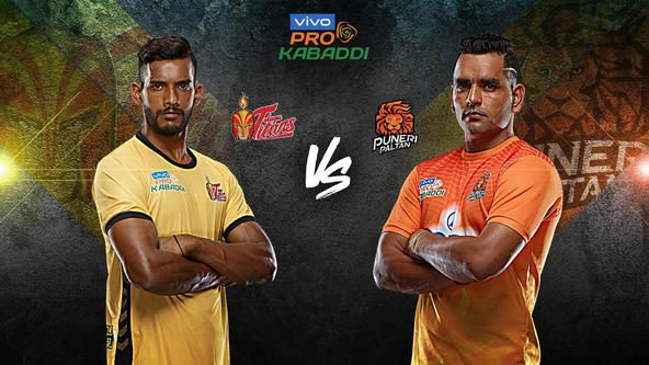 Telugu Titans aim to beat Puneri Paltan and stay in playoffs race