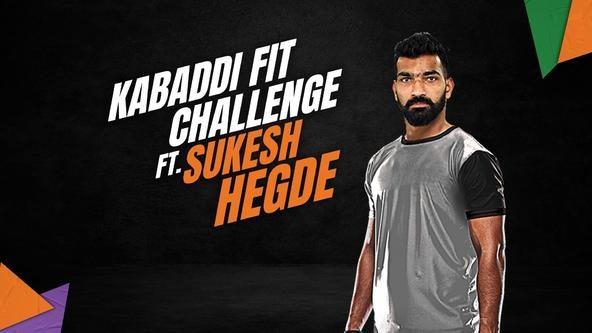 Kabaddi Fit Challenge ft. Sukesh Hegde