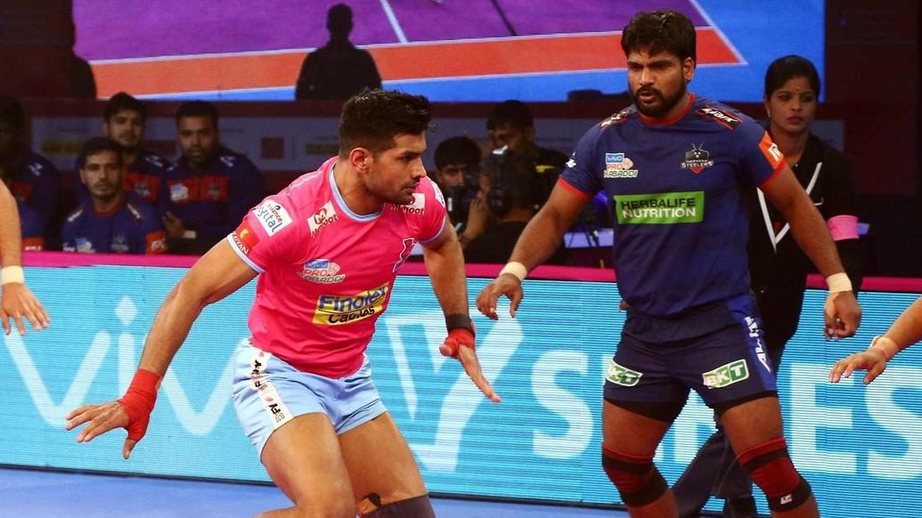Hooda's heroics help Jaipur Pink Panthers curb Haryana Steelers' brave fight