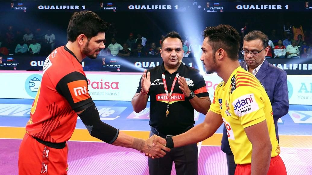 Qualifier 1 - Gujarat Fortunegiants vs Bengaluru Bulls