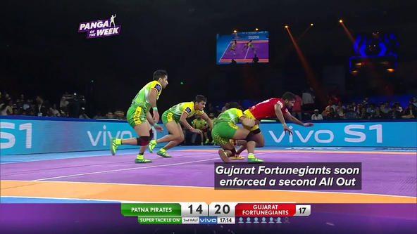 Match in 90 Seconds: Gujarat Fortunegiants vs Patna Pirates