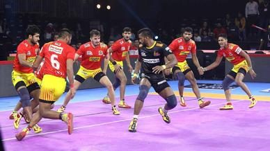 Match 37: Gujarat Fortunegiants vs Telugu Titans