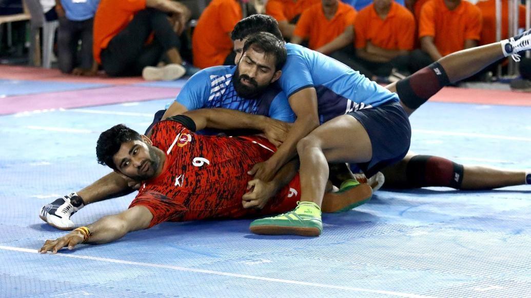 Senior National Kabaddi Men: Pardeep Narwal strikes form with a Super 10