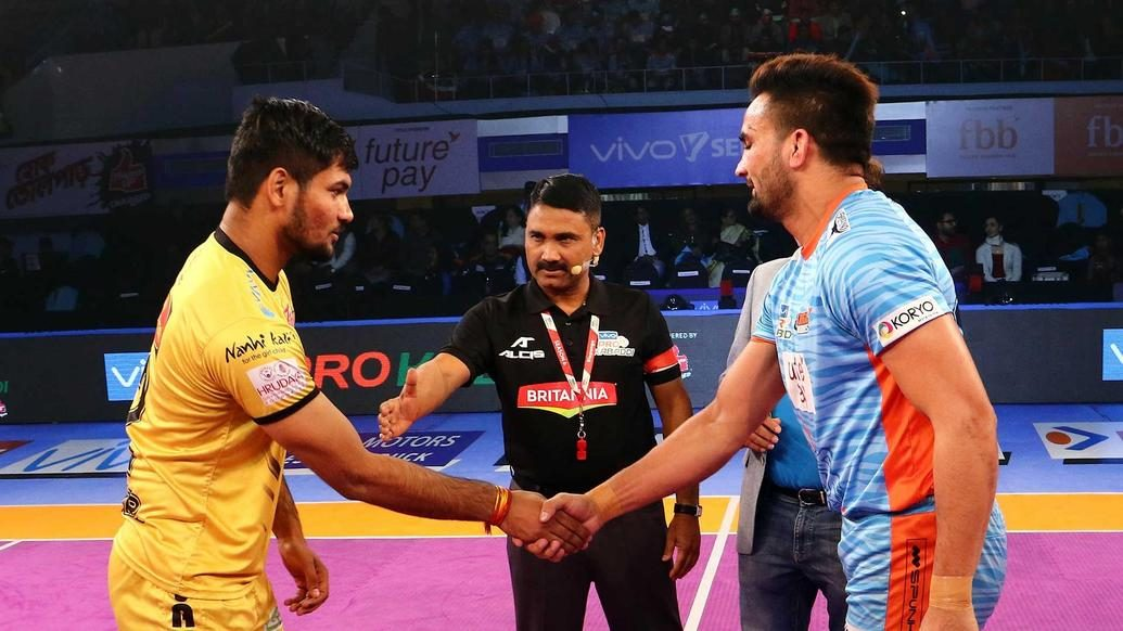 Match 128 - Bengal Warriors vs Telugu Titans