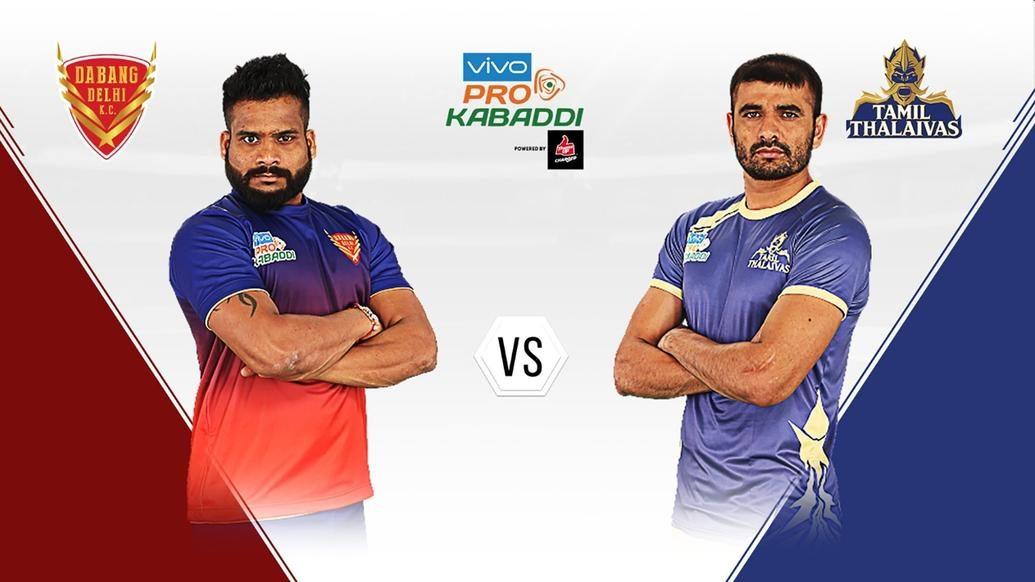 Playoffs battle intensifies as Dabang Delhi K.C. take on Tamil Thalaivas