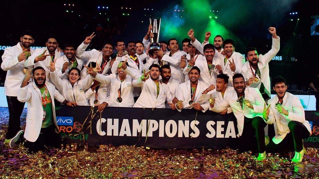 தொடர்ந்து மூன்றாவது முறையாக சாம்பியன் பட்டம் வென்றது பாட்னா பைரட்ஸ் 5