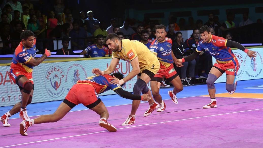 Match 107: Telugu Titans vs U.P. Yoddha