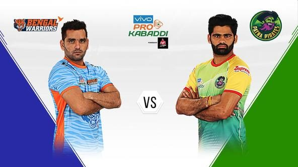 Patna Pirates fight to defend their position in Zone B against Bengal Warriors