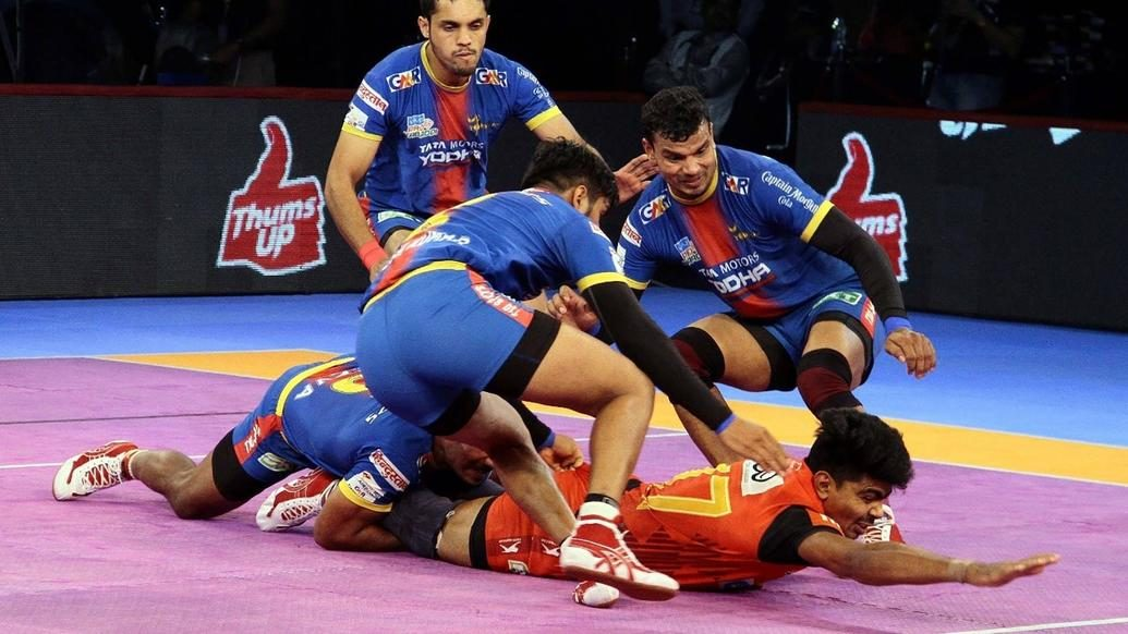 Sehrawat's Super 10 lifts Bengaluru Bulls over U.P. Yoddha
