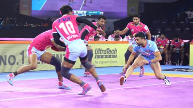 Match 13: Jaipur Pink Panthers vs Bengal Warriors