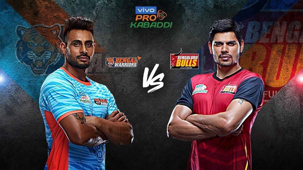 Semi-final candidates Bengal Warriors and Bengaluru Bulls square off in Kolkata