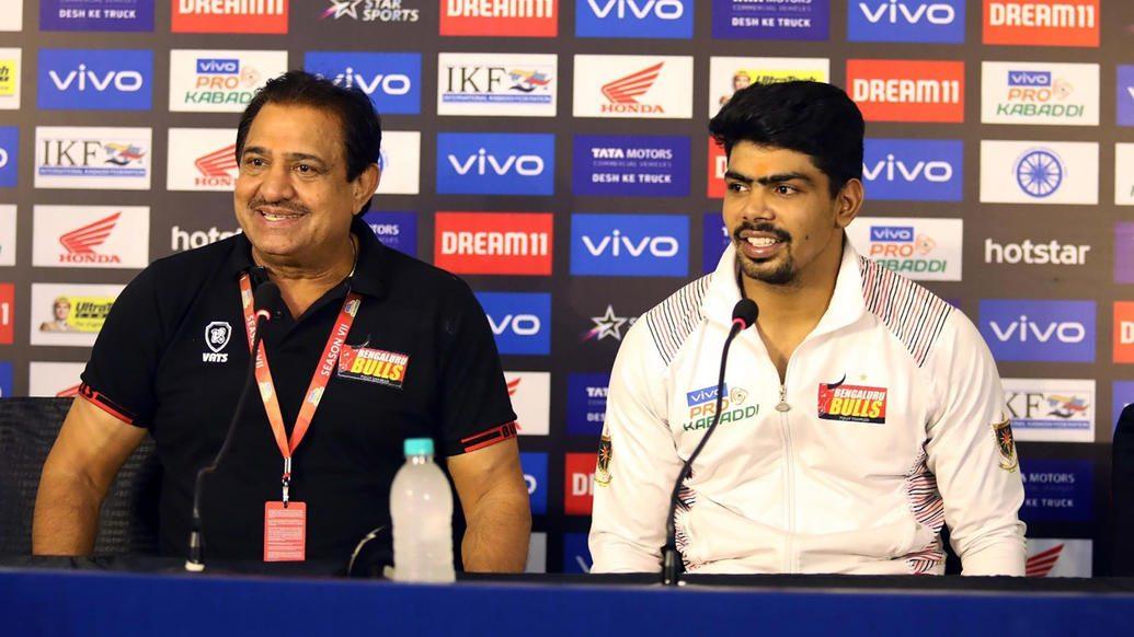 Sehrawat thanks his teammates after record-breaking display against Haryana Steelers